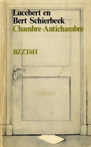 Versozijde omslag Chambre-antichambre