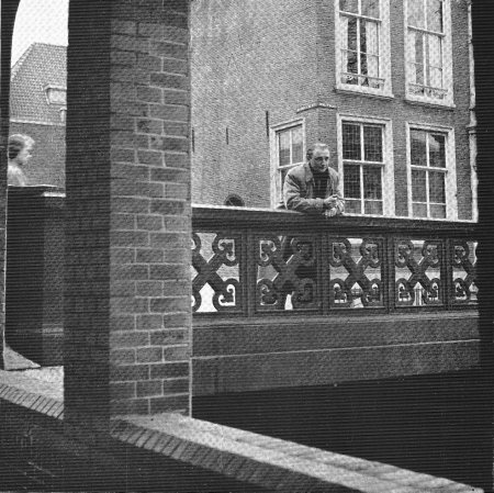 Paul Rodenko op de Hooigracht in Den Haag.