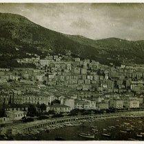 Onderschrift: 'De haven van Monaco'