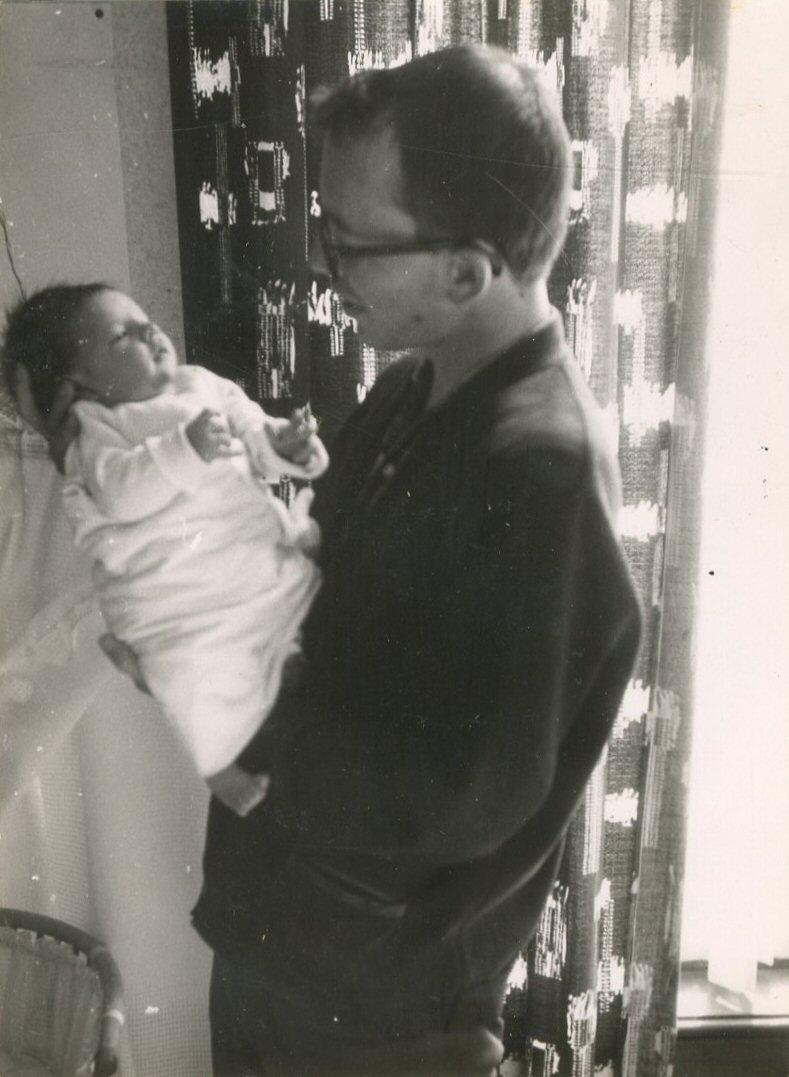 """""""26 mei 1963, Rutger Hugo 11 dagen oud"""""""
