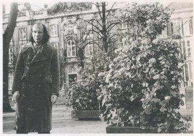 """""""6 november 1971. Najaarsfoto's op het Voorhout."""""""