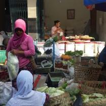 Markt in Jogjakarta