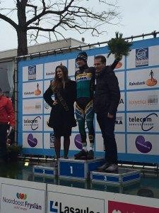 Corné reed eveneens de snelste ronde in Surhuisterveen
