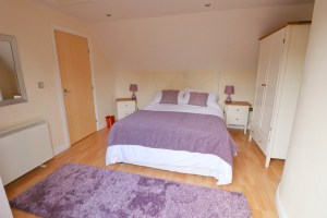 holiday cottage close to Padstow Cornwall Kingfishers double bedroom
