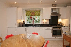 Pentire Ocean Blue holiday apartment dining