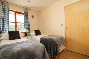 holiday cottage close to Padstow Cornwall Kingfishers second bedroom