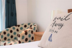 Bedruthan Holiday Cottage cushions