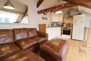 character holiday cottage in Padstow sofas living room