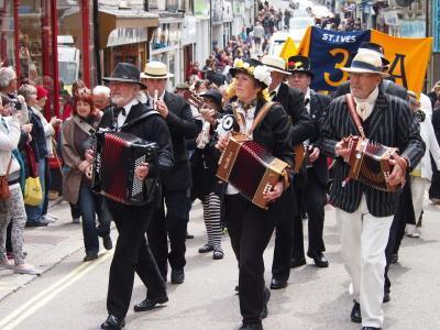 St. Ives May Day 1st May