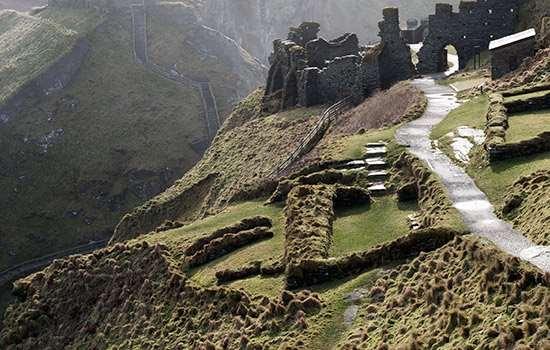 Tintagel Castle, North Cornwall