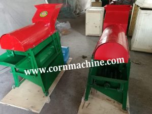 corn peeler thresher
