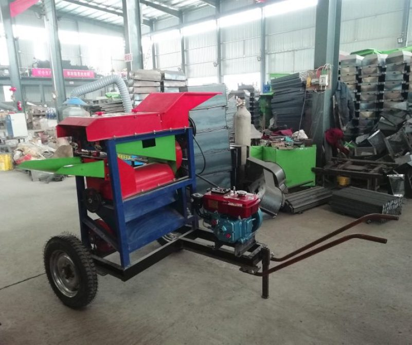 diesel maize peeler sheller machine