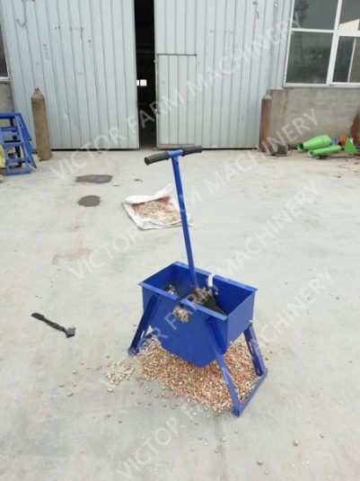 hand operated peanut sheller