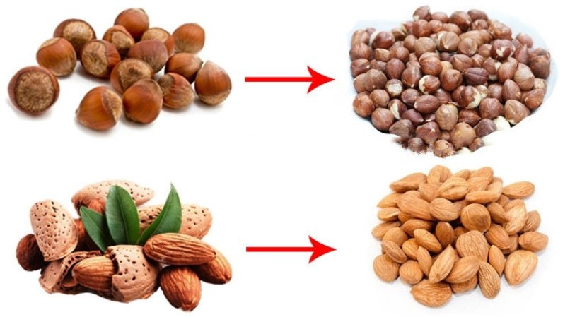 almond cracking