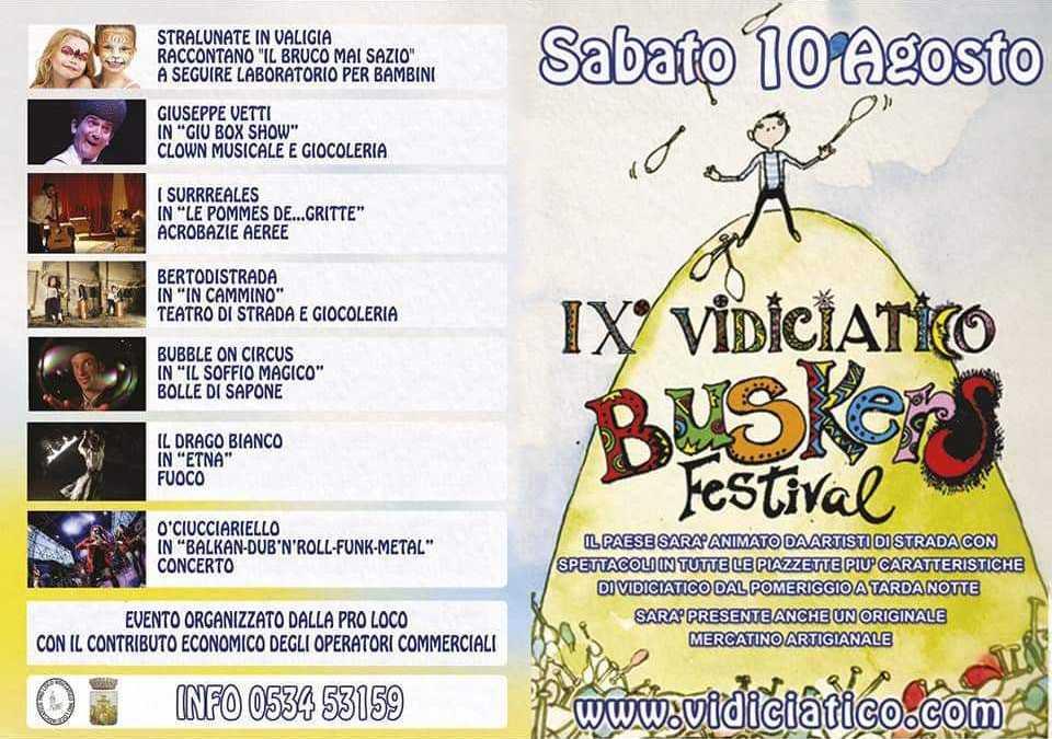 Vidiciatico Buskers Festival