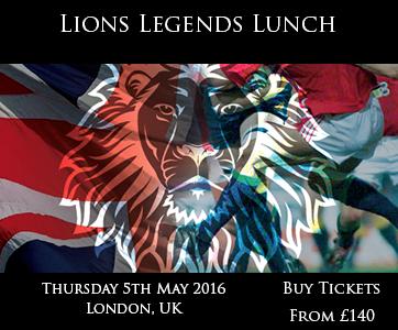 Lions Legends Lunch