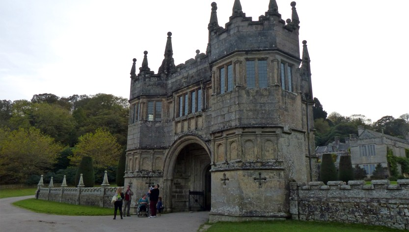 Lanhydrock House and gardens
