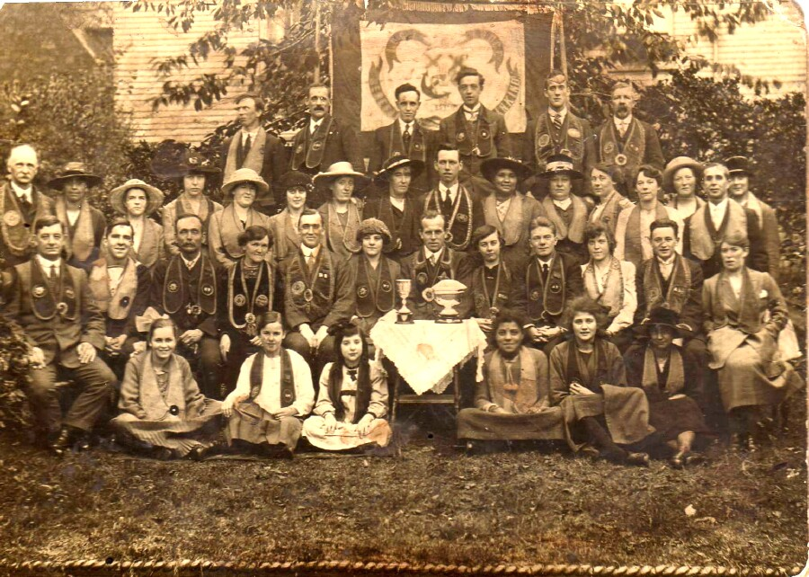 Figure 6. The Benefactors of Mankind Torpoint Lodge, c.1918.