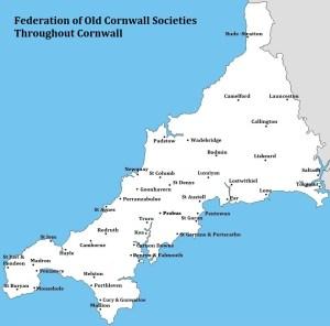 Old Cornwall Societies Map