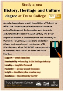 History Heritage & Culture Degree Course Poster
