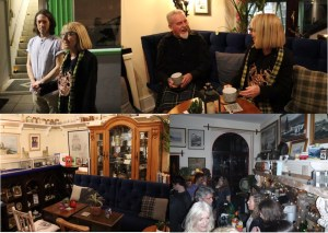 Scenes from Opening with Grand Bard Liz Carne & Former Grand Bard Merv Davey