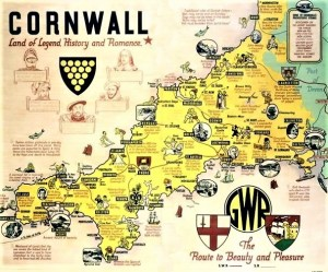 GWR - Land of Legend History and Romance