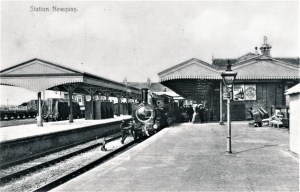 Newquay Railway Station C1905