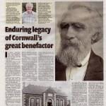 Ertach Kernow- Enduring legacy of Cornwall's great benefactor
