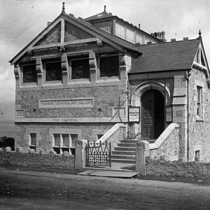 Passmore Edwards Art Gallery, Newlyn, Cornwall. Around 1900 - Photographer: S.C. Fox. [RCM collection]