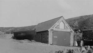 Lifeboat House Mullion Circa 1900 - Royal Cornwall Museum