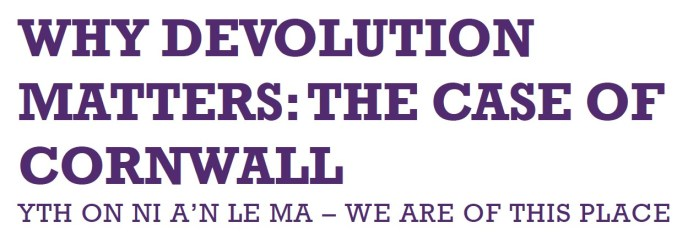 Why Devolution Matters - LINK