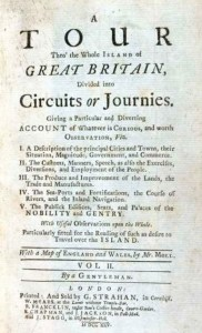 A Tour Thro' the whole Island of Great Britain Vol-II (includes Cornwall)