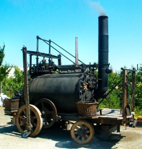 Trevithick Society's 'Puffing Devil'