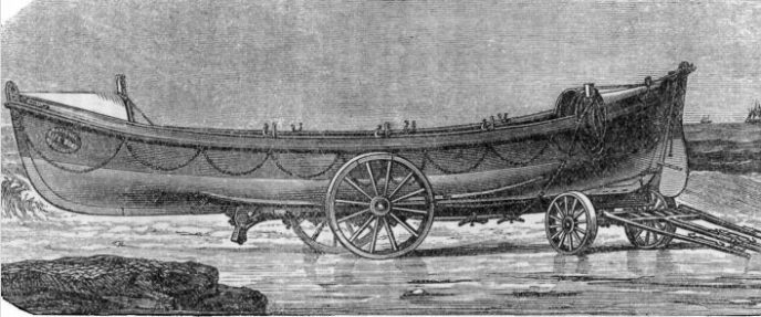 Typical RNLI Lifeboat c1867
