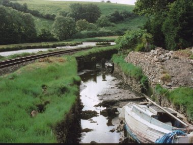 Remains of the Looe Canal