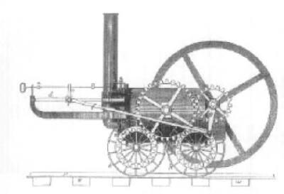 Richard Trevithick's Penydarren Iron Works Locomotive