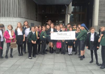 Pelynt Primary School meet the Vikings!