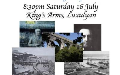 "Story Cafe ""Luxulyan to Newquay – an Example of Cornish Ingenuity"", Saturday 16th July"