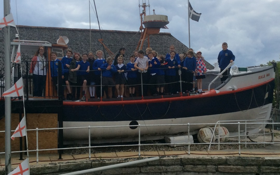 Shipwrecked at Charlestown with Lifton School