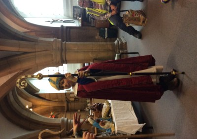 Fourlanesend CP School visit to Truro Cathedral