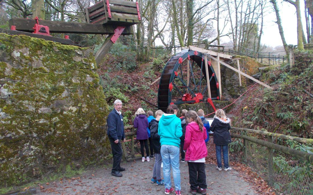 Polperro School visit Wheal Martyn