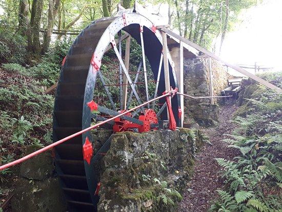 Wheal Martyn Water Wheel Restoration Project