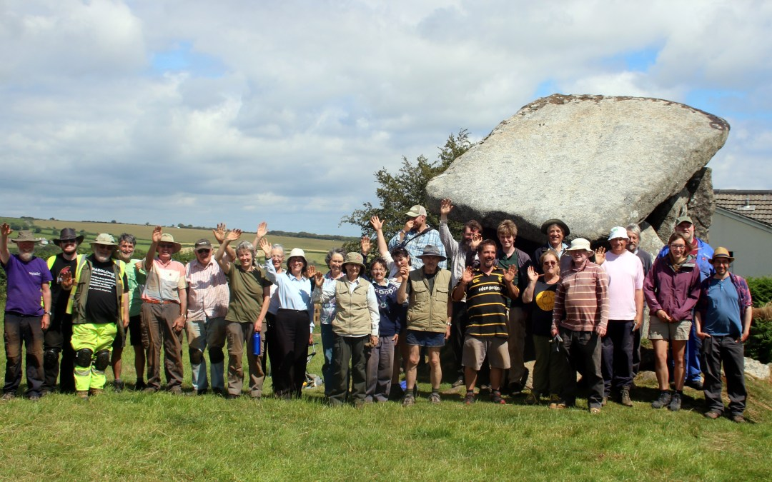 Exciting discovery at Trethevy Quoit archaeological dig