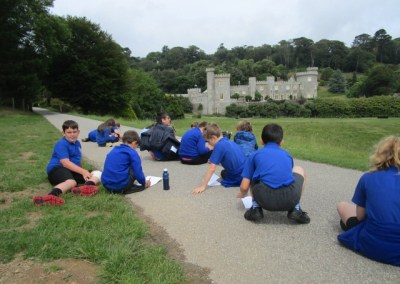 Gwinear School visit Caerhays