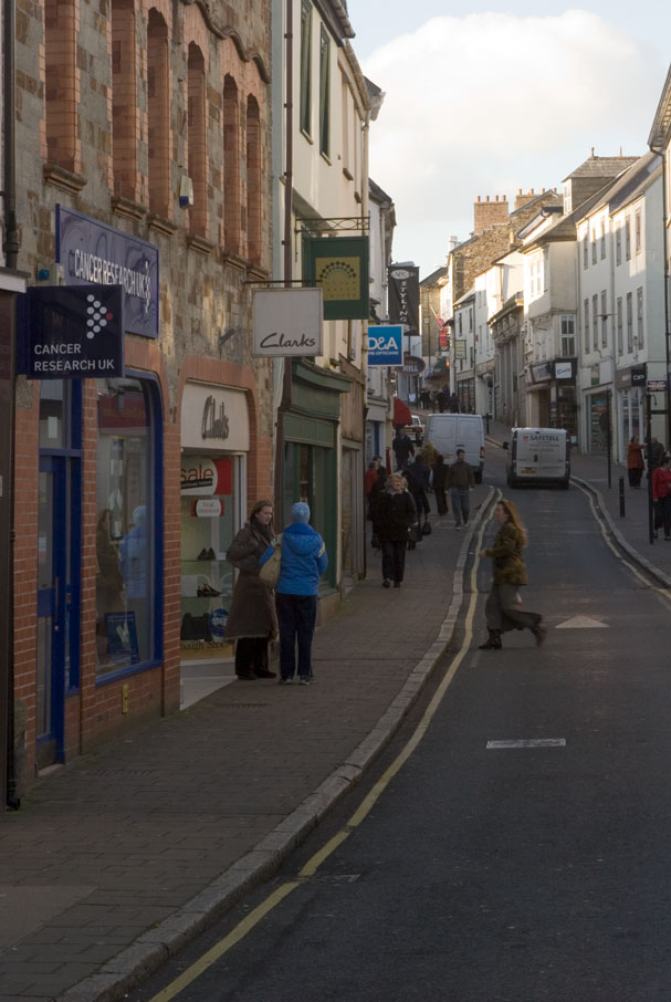 Bodmin High Street | Cornwall Guide