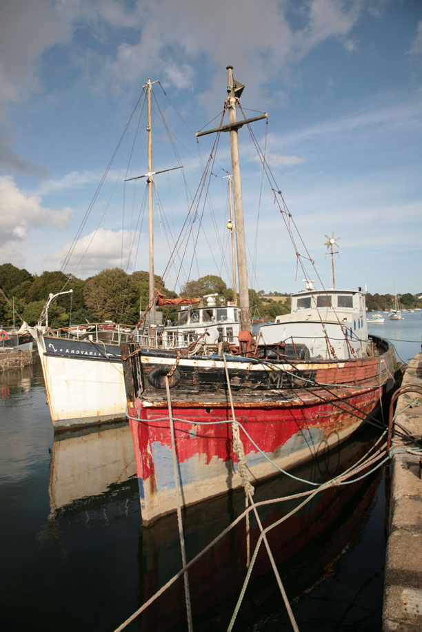 Old Boats Penryn Cornwall Guide