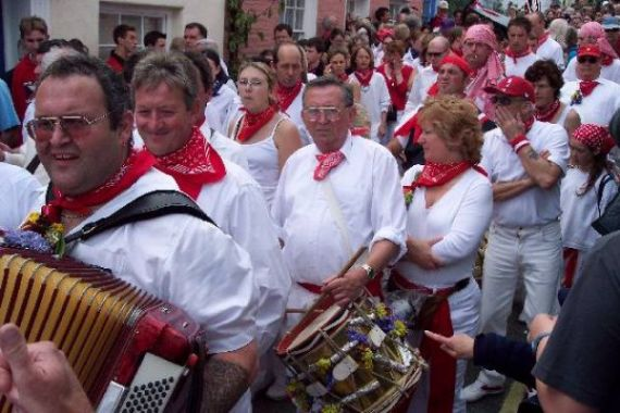 Obby Oss Parade - Padstow - diary dates for you to enjoy
