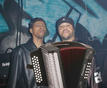 DJ Assault & DJ Funk rockin the Accordion