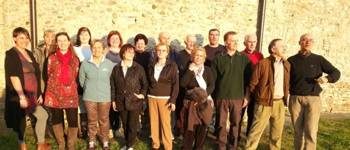 Foto di gruppo a Viarolo - 2014