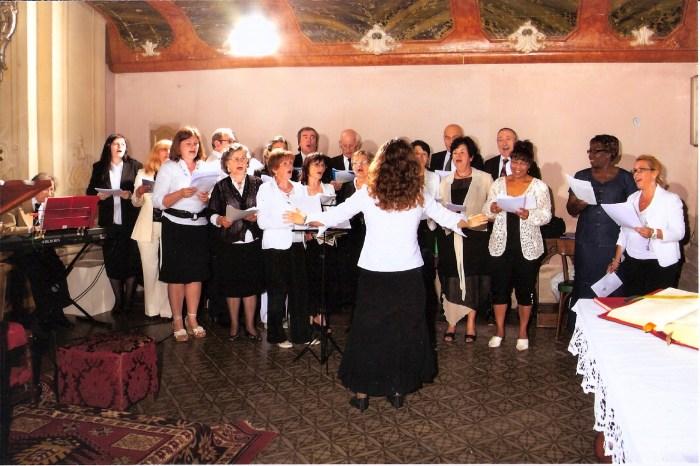 Coro di Viarolo a Trecasali, 2011
